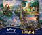 Thomas Kinkade Disney 4 in 1 Puzzle Collection 2