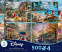 Thomas Kinkade Disney 4 in 1 Puzzle Collection 6