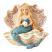 Merriest Mermaid in Clam Shell