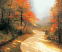 Thomas Kinkade Autumn Lane