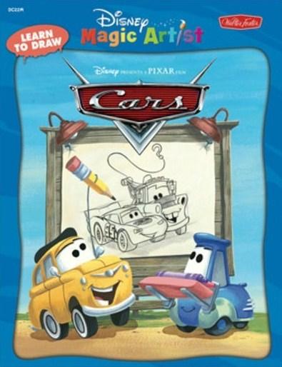 Learn To Draw Disney Pixar Cars Book At Ocean Treasures