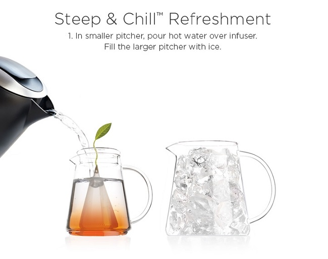 Tea Over Ice Step 1