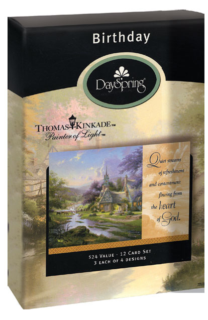 Thomas Kinkade Birthday Cards At Ocean Treasures