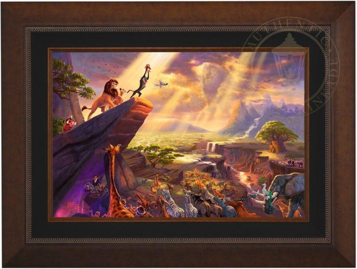 The Little Mermaid Thomas Kinkade LE 1155 18x27 Paper Disney NEW Giclee