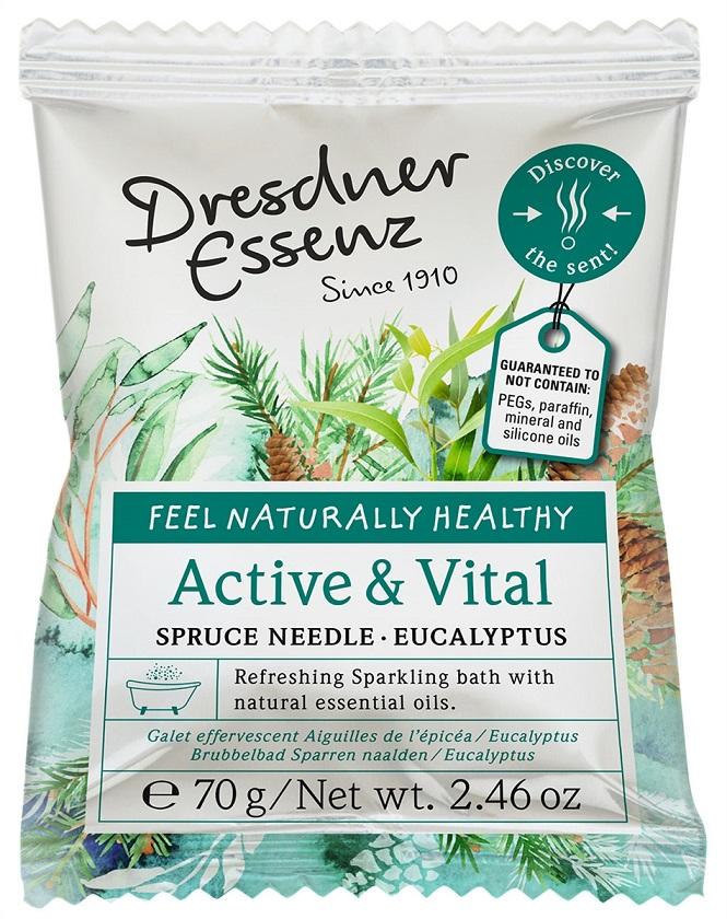 Active & Vital Sparkling Bath Tablet