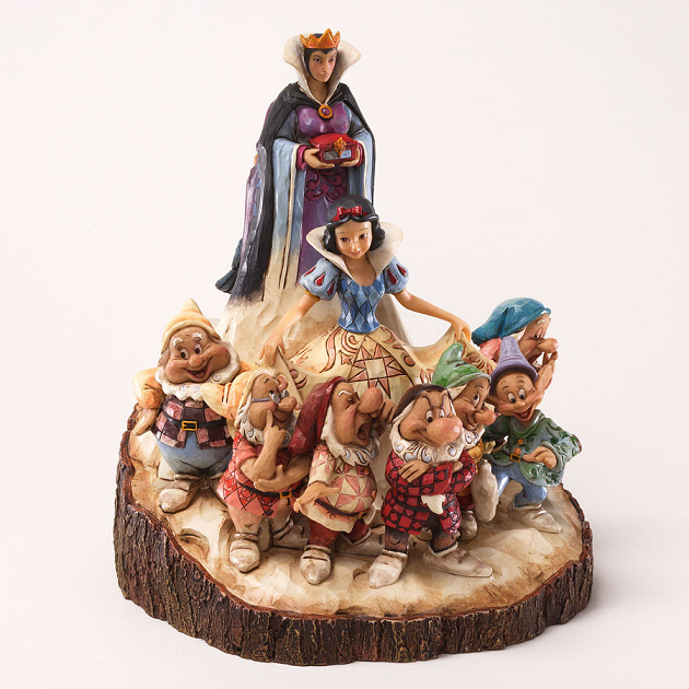 Snow White Carved by Heart Figurine