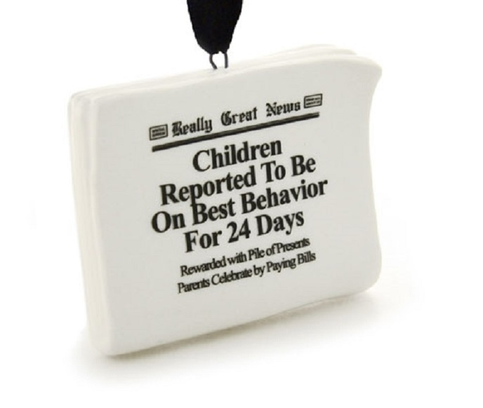 Children on Best Behavior Ornament