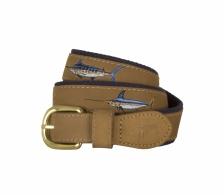 Offshore Slam Leather Belt