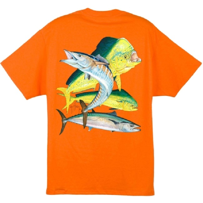 Bull Dolphin, Wahoo, Kingfish T Shirt