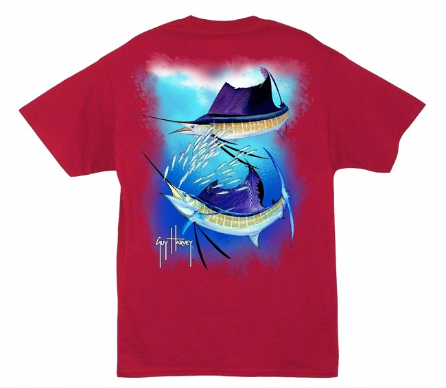 Sailfish Spiral T Shirt