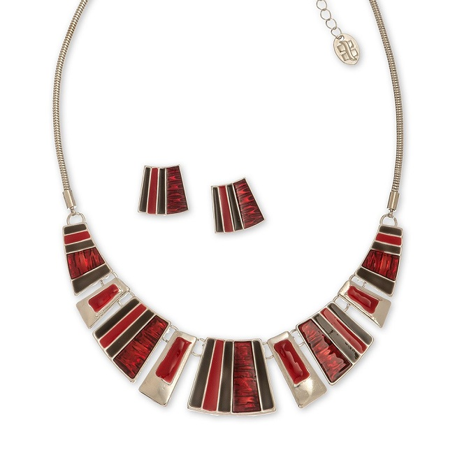 Rouge Collar Necklace Set
