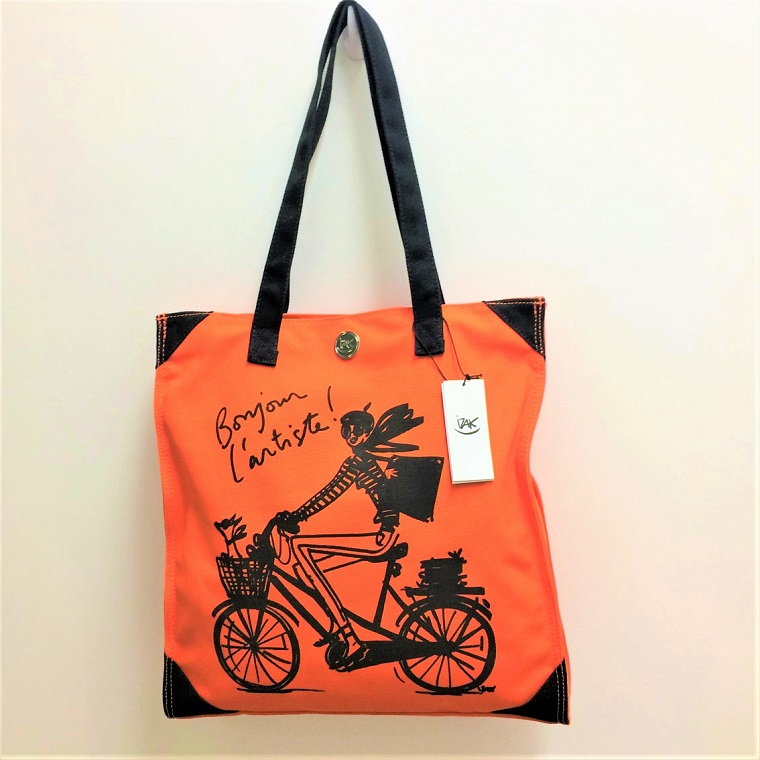 Bonjour L'Artiste Bicycle Girl Bag