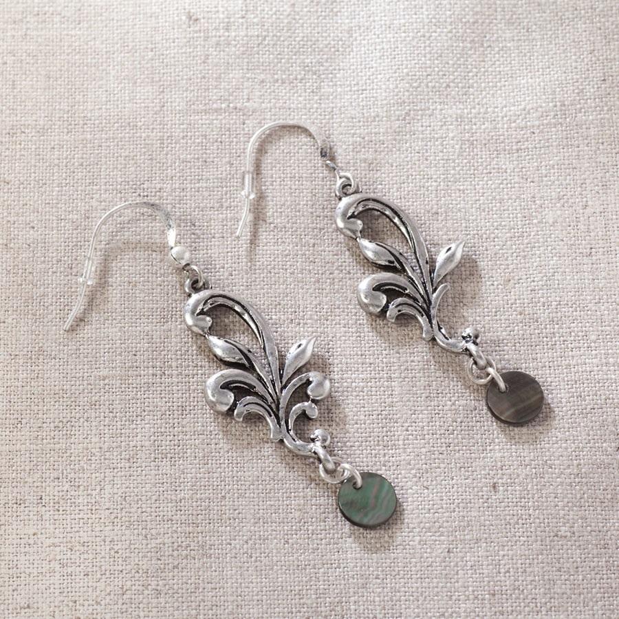 Rosemaling Earrings