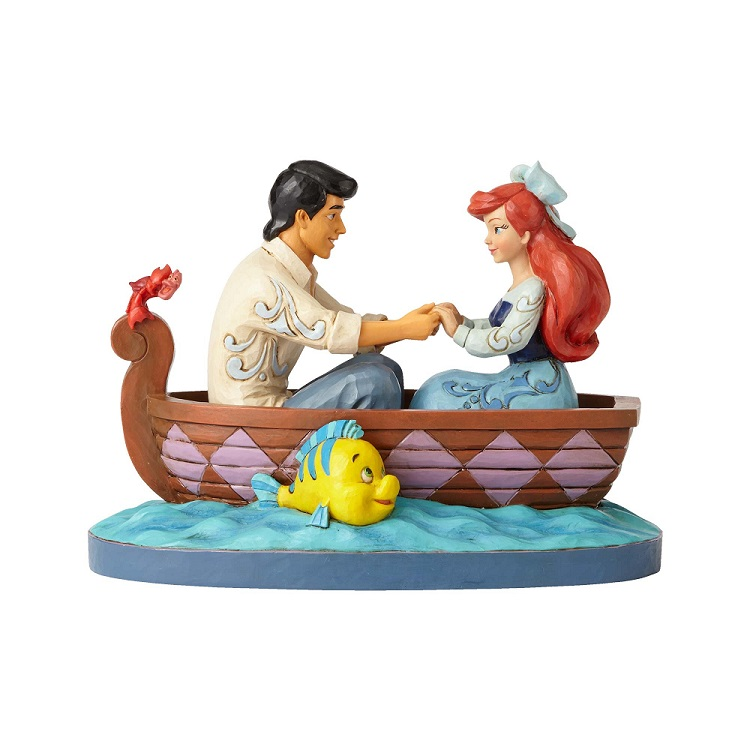 The Little Mermaid Waiting for a Kiss Figurine