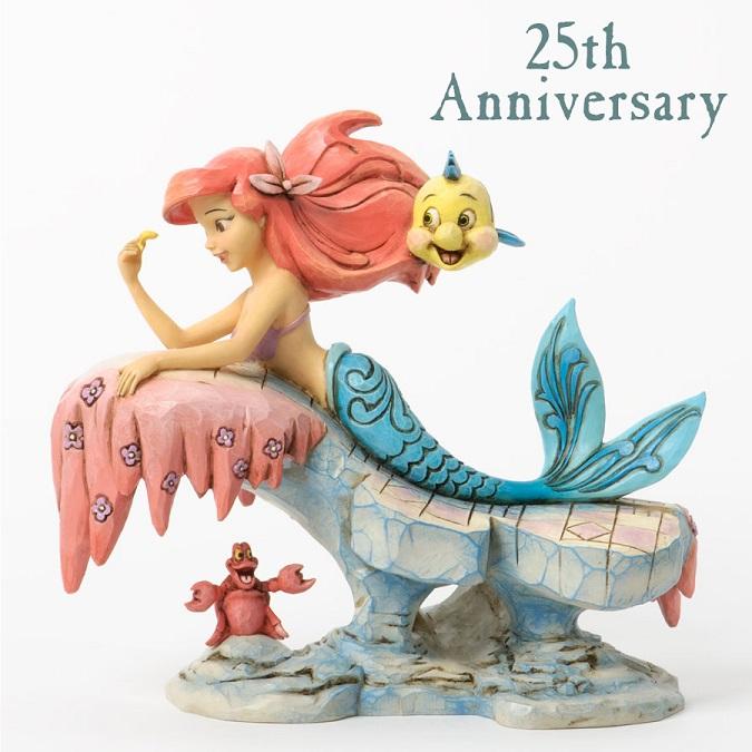Little Mermaid 25th Anniversary Figurine