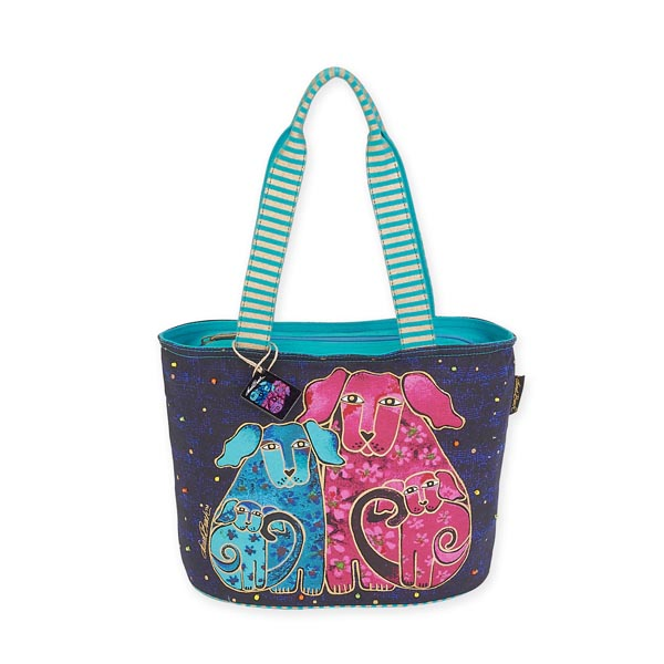 Blossoming Pups Medium Bag