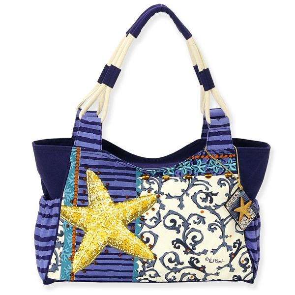 Coastal Starfish Medium Bag