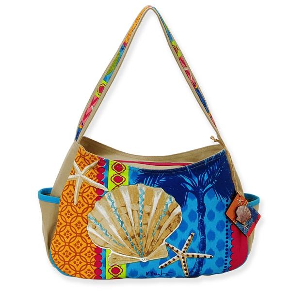 Pacific Shell Medium Hobo Bag