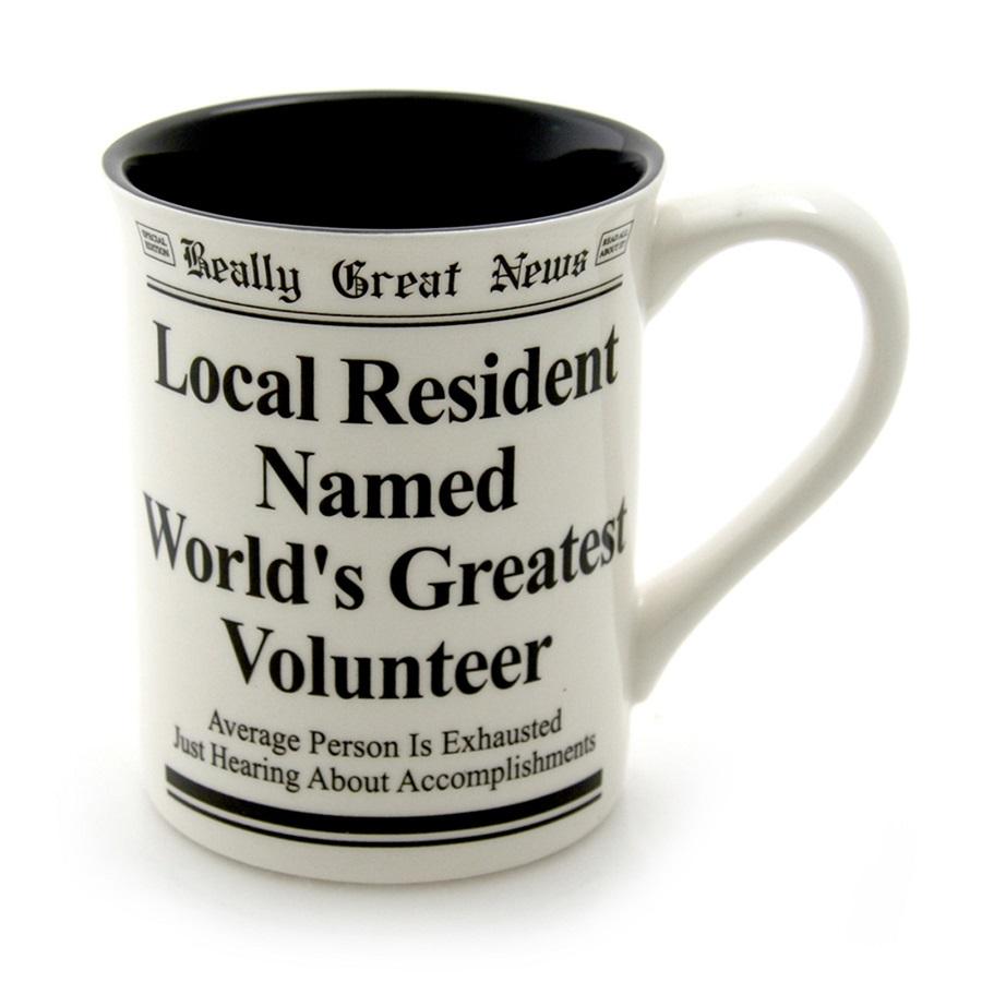 World's Greatest Volunteer Mug