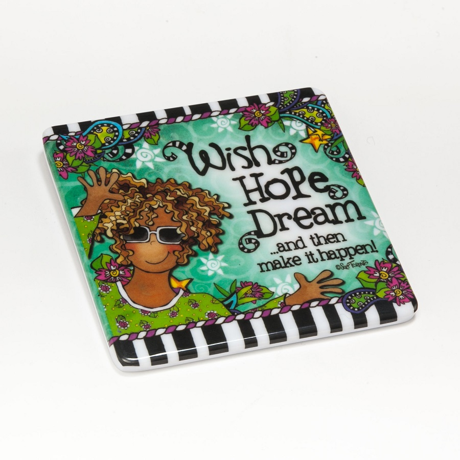 Wish Hope Dream Coaster
