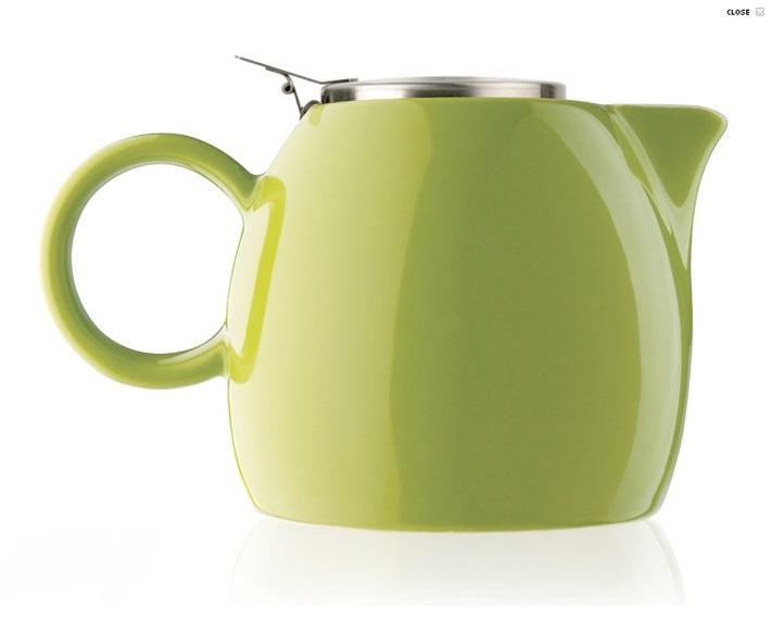 Pistachio Green Pugg Teapot