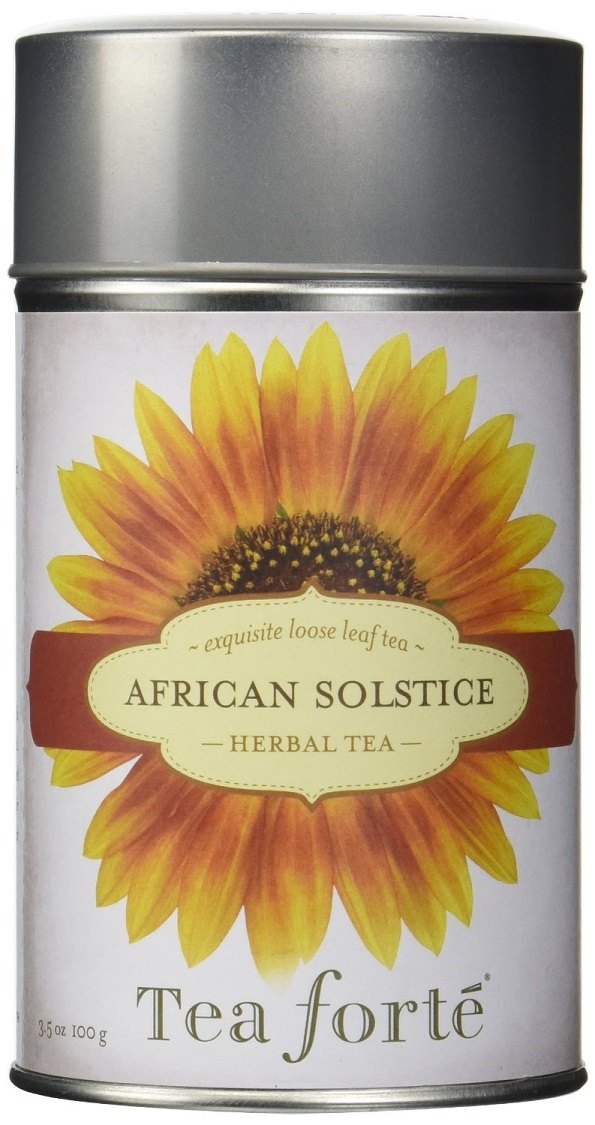 African Solstice Tea Canister