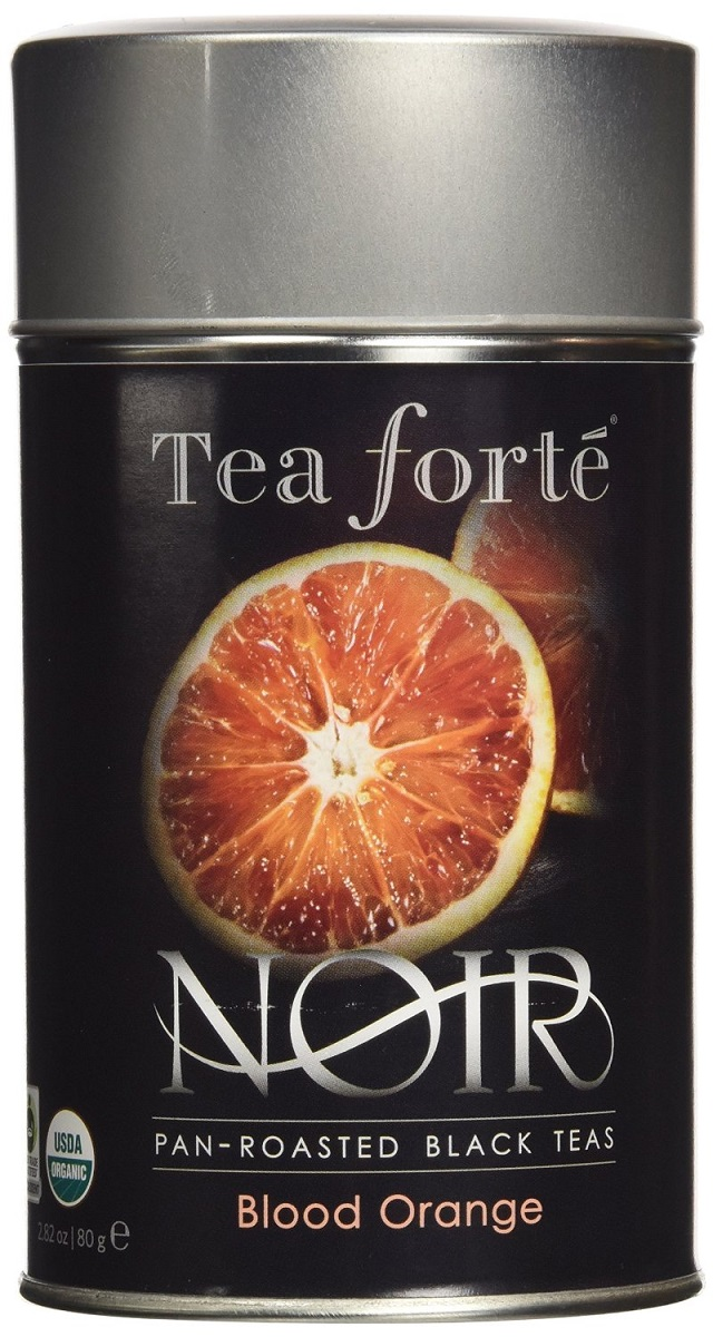 Blood Orange Noir Tea Canister
