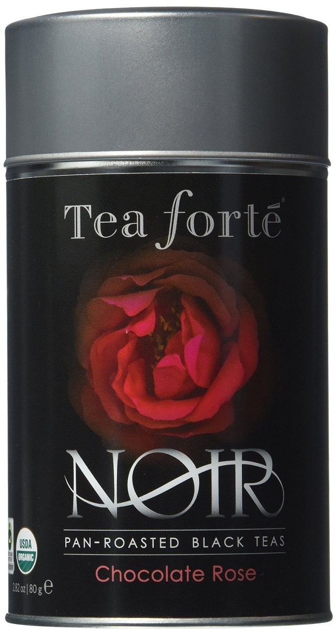Chocolate Rose Noir Tea Canister