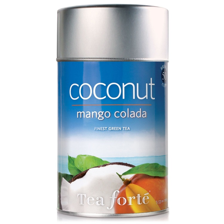 Tea Forte' Coconut Mango Colada Loose Tea Canister at ...