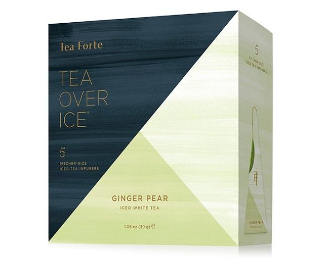 Iced Ginger Pear Tea