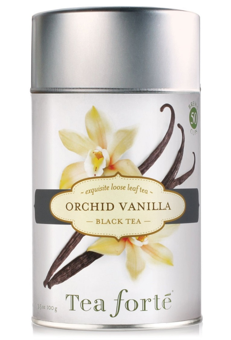 Orchid Vanilla Tea Canister