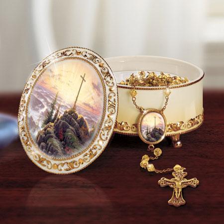 Sunrise Music Box and Rosary