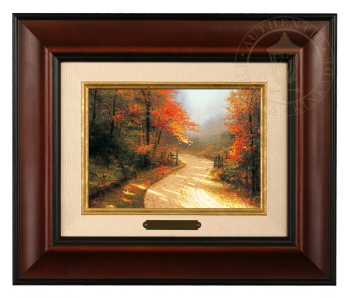 Autumn Lane Brushwork (Frame Choices)