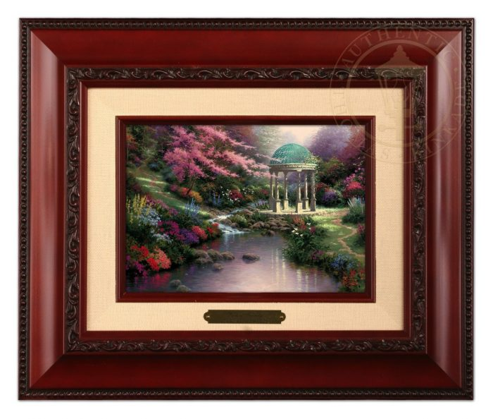 Pools of Serenity Brushwork (Frame Choices)