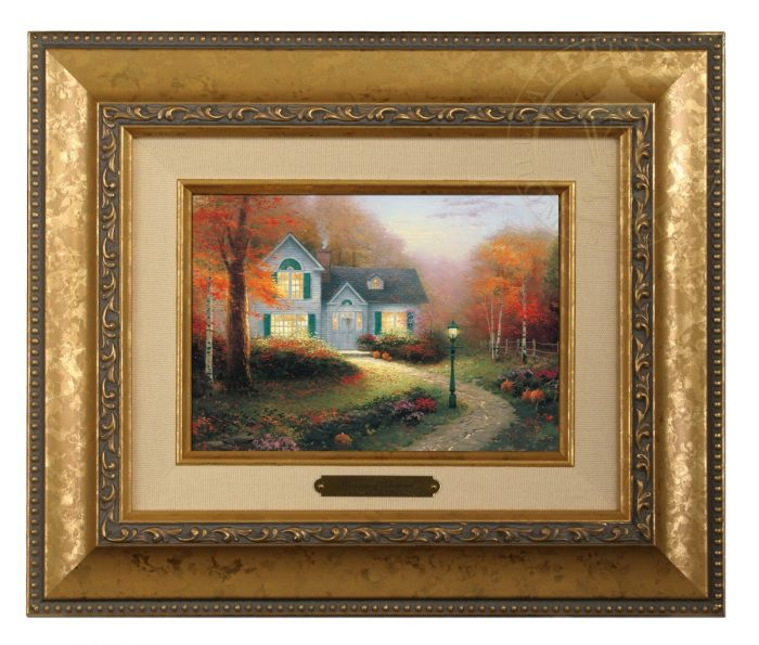 The Blessings of Autumn Brushwork - Three Frame Choices