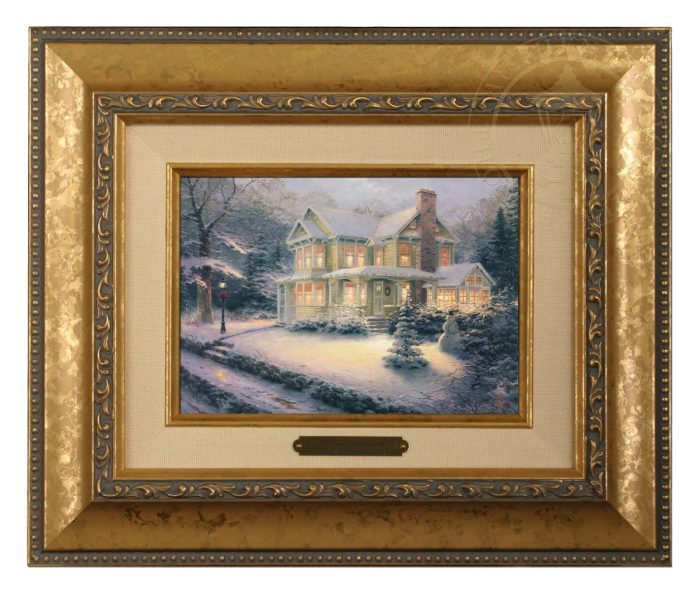 Victorian Christmas III Brushwork (Frame Choices)