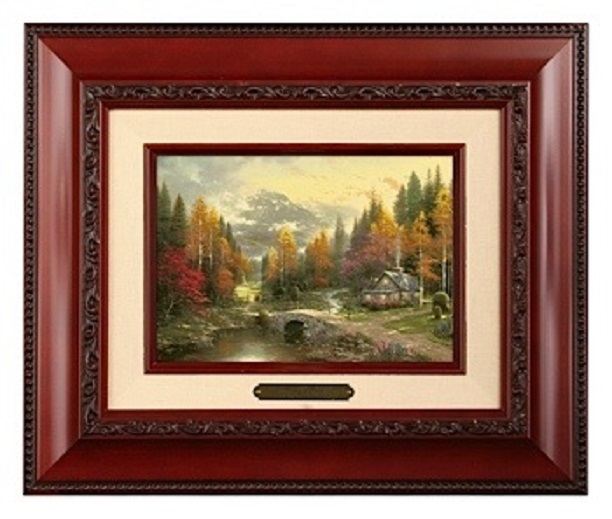 Valley of Peace Brushwork - Three Frame Choices