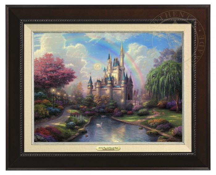 A New Day at the Cinderella Castle Classic (Frame Choices)