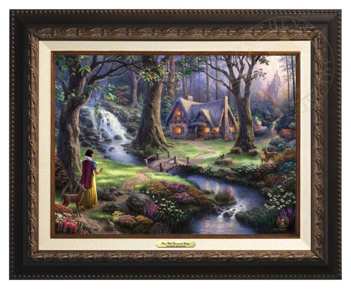 Snow White Discovers The Cottage Classic (Frame Choices)