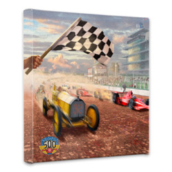 A Century of Racing Canvas Wrap