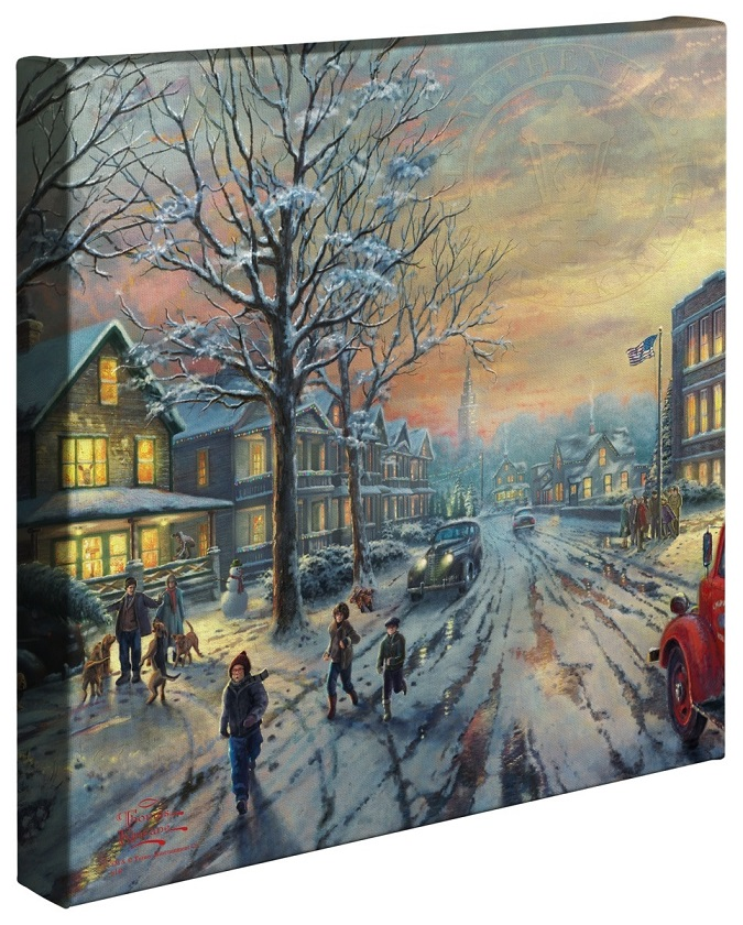 A Christmas Story Canvas Wrap