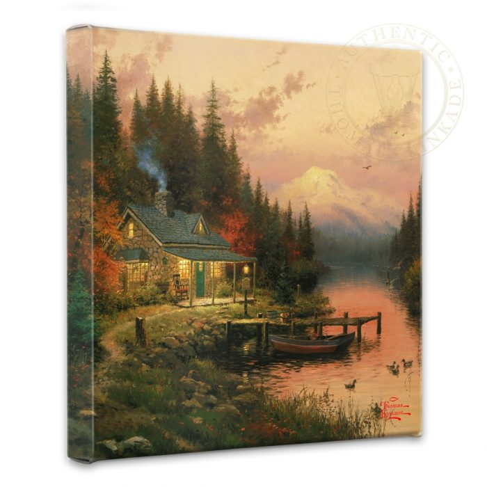 End of a Perfect Day Canvas Wrap