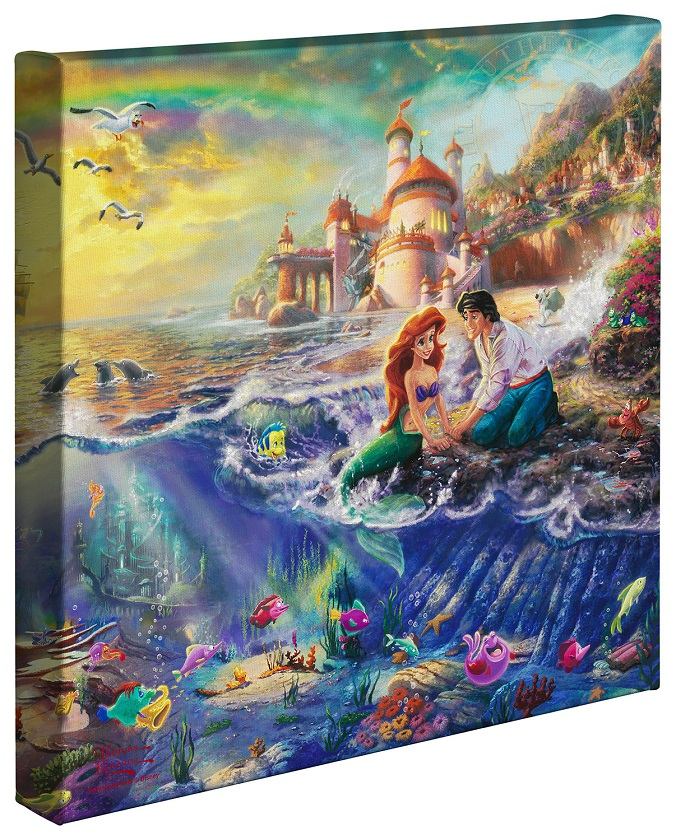 The Little Mermaid Canvas Wrap