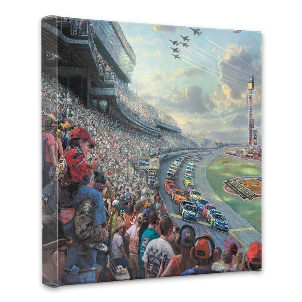 NASCAR Thunder Canvas Wrap