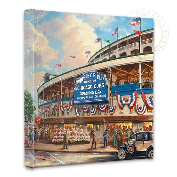 Wrigley Field Canvas Wrap