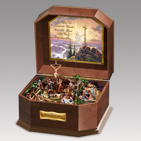 Visions of Christ Music Box