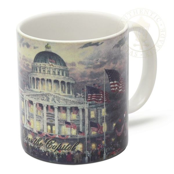 Flags Over the Capitol Mug