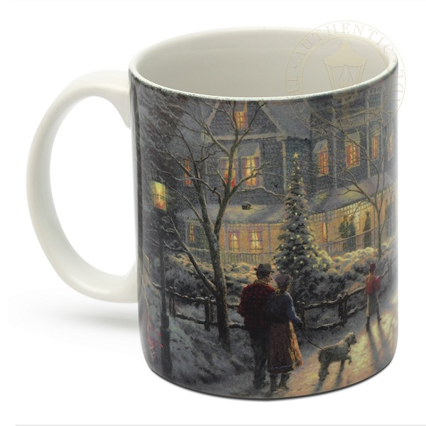 A Holiday Gathering Mug