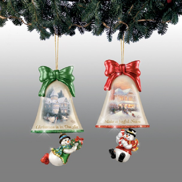 Ringing in the Holidays Ornament Set 2