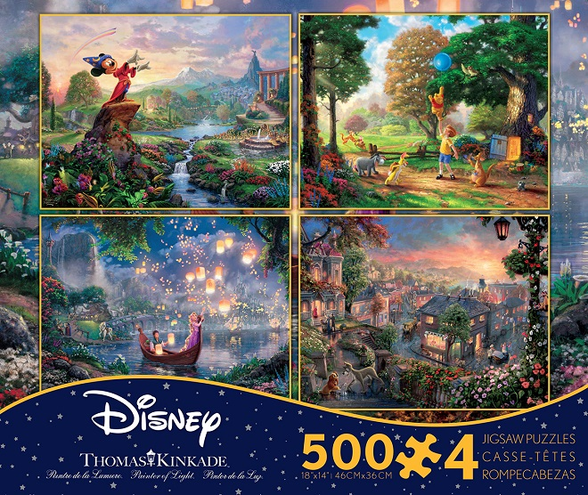 Disney 4 in 1 Puzzle Collection 2